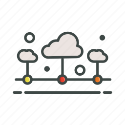 cloud, connection, online, system icon