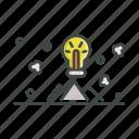 creative, idea, mountain, strategy