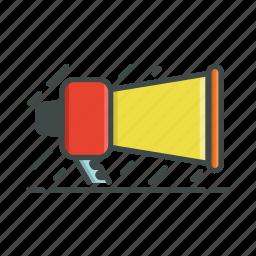 megafone, speak, voice icon