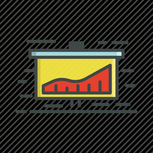 chart, information, presentation icon