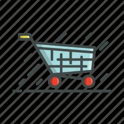 cart, market, shopping icon