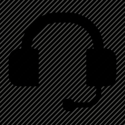 customer, gadget, headphone, headset, operator, service, support icon