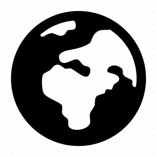 earth, global, global network, globe, map, world icon