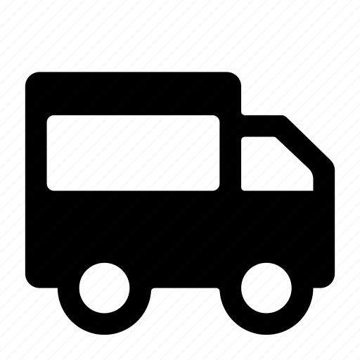 automobile, delivery truck, transport, transportation, van, vehicle icon