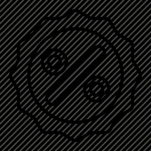 discount, discount badge, percent, sale, sale badge, sale label icon