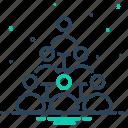 business, mlm marketing, organization, multi level marketing, teamwork, management, togetherness icon