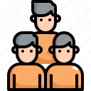 business, finance, group, people, team, teamwork, users icon