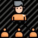 affiliate, finance, marketing, referral, seo, user, web icon