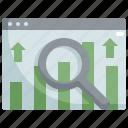 analytics, chart, graph, profit, seo, statistics, web icon