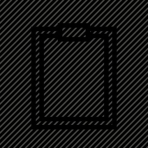 checklist, clipboard, items, tasks icon