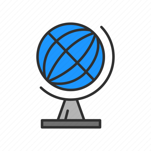 connection, globe, network, world icon