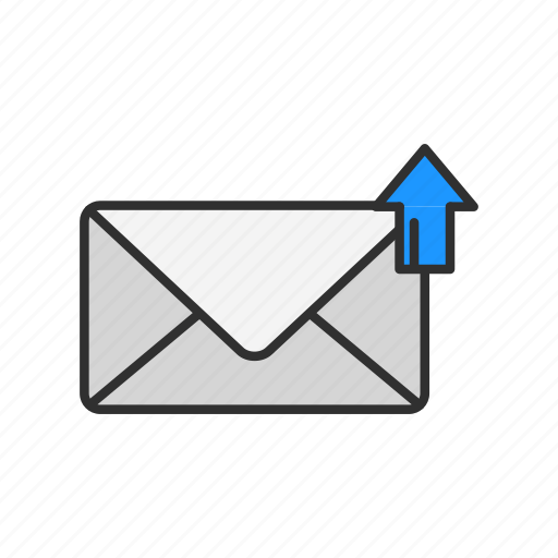 email, letter, message, send message icon