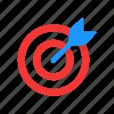 arrow, dart, dart board, target