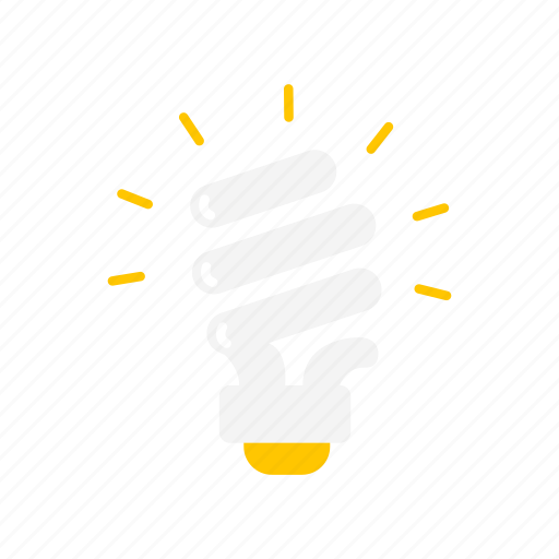 Bulb, idea, light, spiral bulb icon - Download on Iconfinder