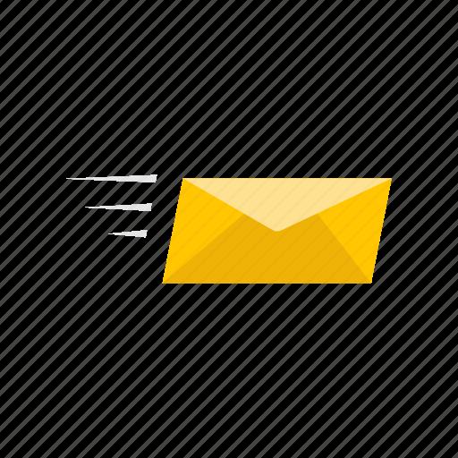 envelope, letter, sending e - mail, sending message icon