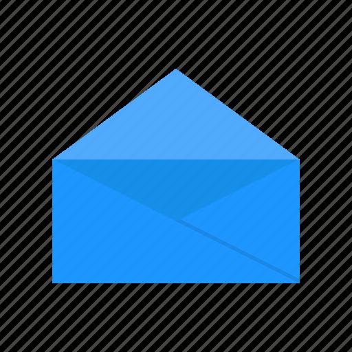 E - mail, envelope, letter, open envelope icon - Download on Iconfinder