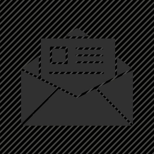 Envelope Letter Open Envelope Open Letter Icon