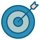 advertisement, advertising, business, goal, marketing, strategy, target icon