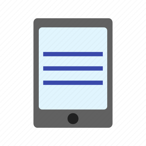 device, mobile, phone, screen, smart, tablet, technology icon