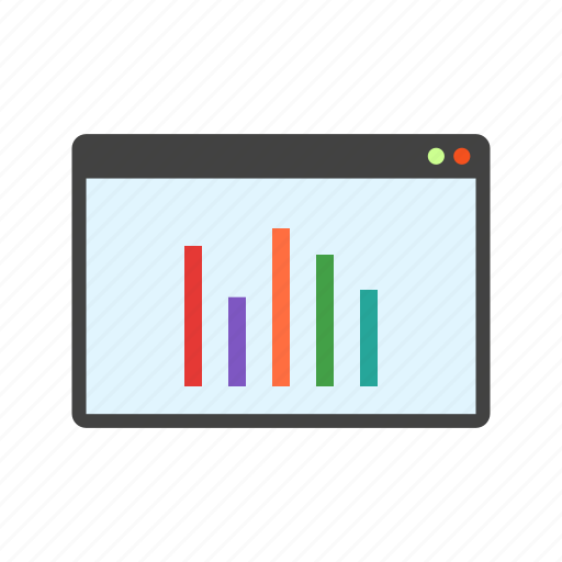 chart, display, graph, information, report, statistics icon