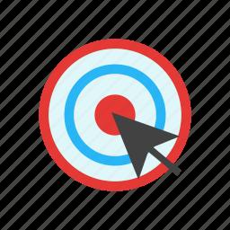 click, cursor, finger, hand, mouse, pointer icon