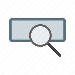 business, magnifier, magnifying glass, marketing, optimization, search icon