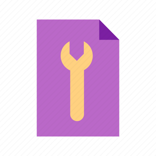analysis, business, data, document, information, review, setting icon