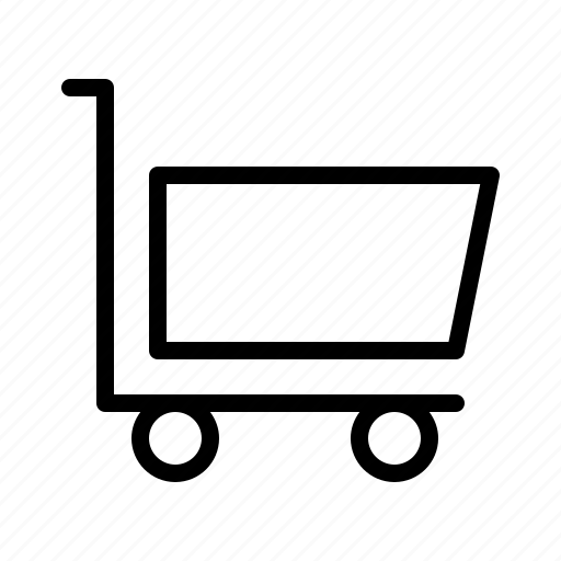 agency, business, cart, commercial, marketing, office, supermarket icon