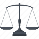 balance, business, law, scale icon