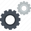content, flat design, gears, hardware, maintenance, management, setting icon