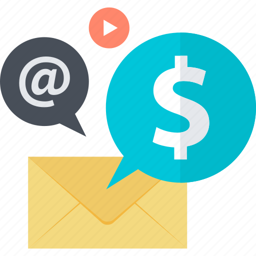 communication, contact, email, flat design, internet, marketing icon
