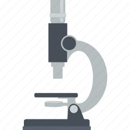 flat design, laboratory, market, marketing, microscope, research, science icon