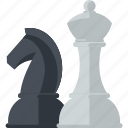 business, chess, concept, strategy icon