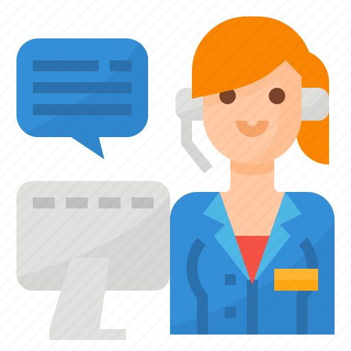 Call, center, operator, service, support icon - Download on Iconfinder