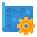 analysis, marketing, plan, strategy icon