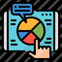 analysis, market, marketing, segmentation icon