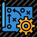 analysis, marketing, plan, strategy icon