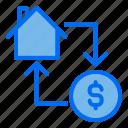 change, transaction, property, money