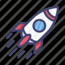 marketing, seo, website, internet, rocket, launch, goal