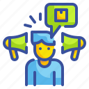 buyer, consumer, customer, people, person, purchaser, shopper icon
