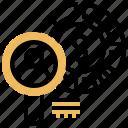 search, sale, customer, market, niche icon