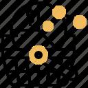 market, potential, segment, size, value icon