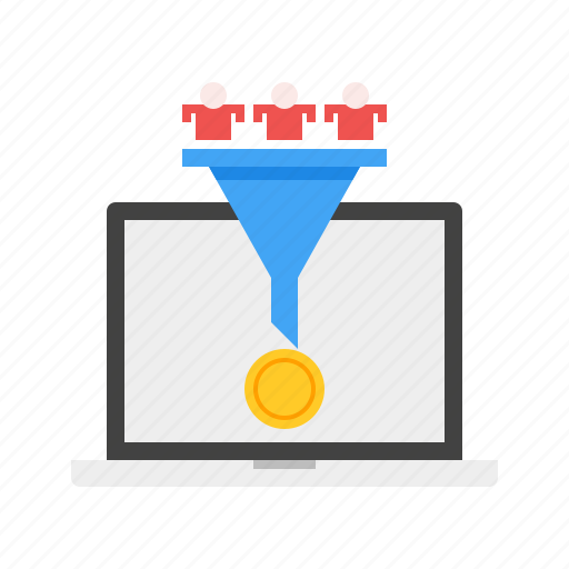 Conversion, customer, income, marketing, money, online icon - Download on Iconfinder