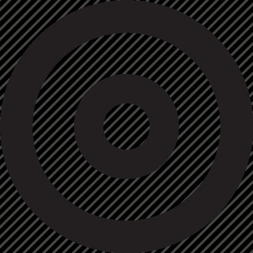 center, target icon