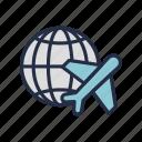 marketplace, ship, shipment, shipping, stuffs, world, worldwide icon