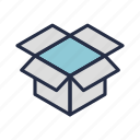 box, marketplace, opened, package, packet, shipment, stuffs