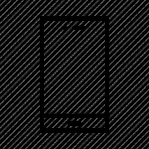 communication, device, gadget, handphone, mobile, phone, smartphone icon
