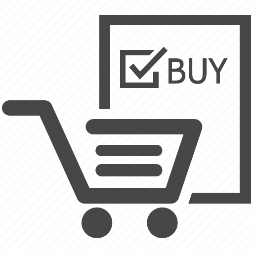 Buy, cart, checked, ecommerce, marketting, online shopping, shopping cart icon - Download on Iconfinder