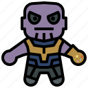 avangers, marvel, avatars, thanos, hero, gartoon