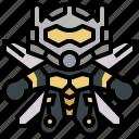 avangers, avatars, gartoon, hero, marvel, wasp icon
